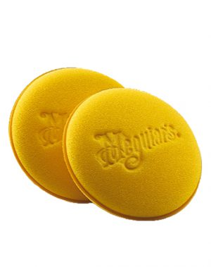 MEGUIARS Hand Foam Applicator Pads (pack of 2 pads) 10cm