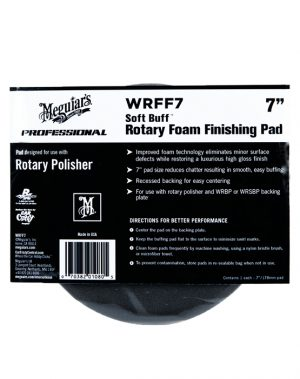 MEGUIARS Rotary Foam Finishing Pad -7inch dia
