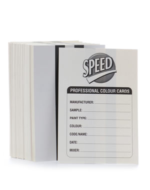 MIX & MATCH Spray Test Cards (each)