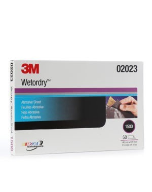 3M P1500 WET OR DRY HALF SHEETS