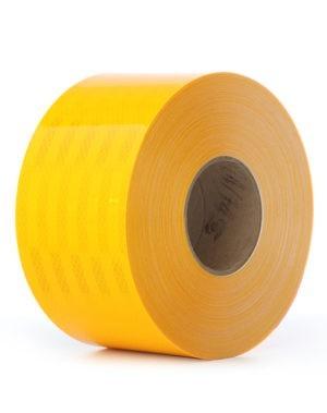 3M Diamond Grade Conspicuity Tape - Flourescent Yellow (Large)
